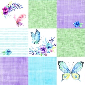 butterfly watercolor cheater