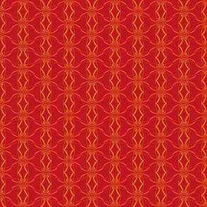 Alphabet Pattern c Radial