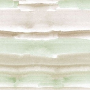 watercolor dreams - earthy and khaki wash stripes texture - abstract modern painted a064-9