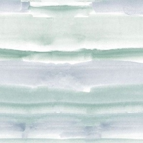Muted watercolor dreams - wash stripes texture - abstract modern painted a064-10