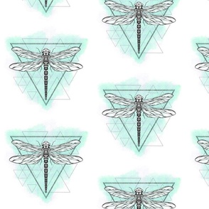 dragonfly triangles