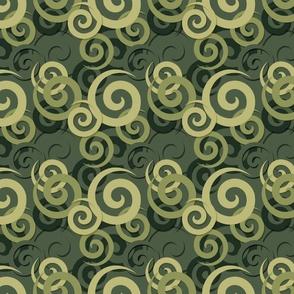 earthy spiral geometry shape1