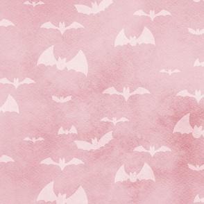 bats take flight - pink