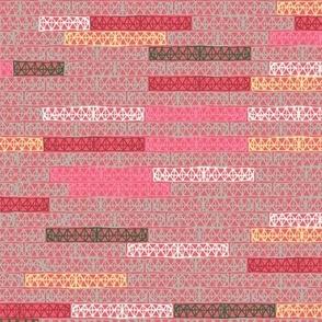 bricks pattern in candy