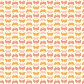 flurries butterflies in candy sweets