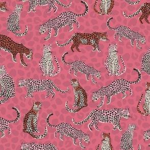 Cheetah Winter Red - Nerida Hansen