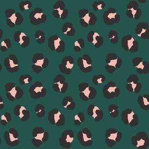 Leopard Winter Green - Nerida Hansen