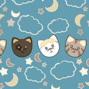 Cats Pajamas Faces