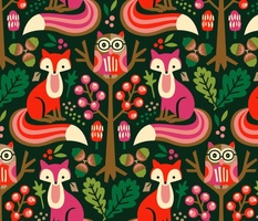 The owl and the fox / Large scale