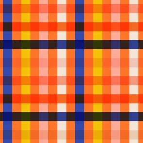 Check Multi Orange - Nerida Hansen