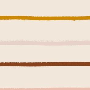 textured stripe on blush -jumbo