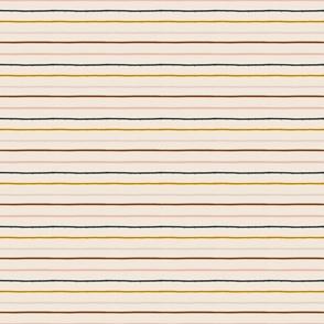 textured stripe on soft blush - micro