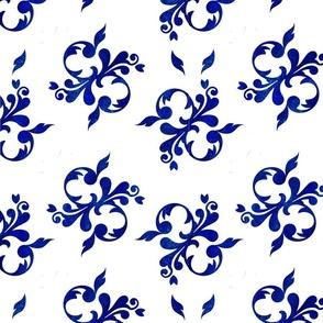 Charming  Blue Floral