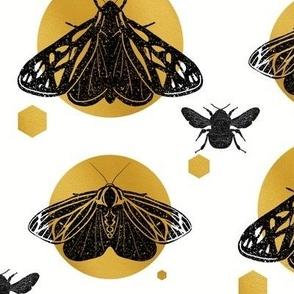 Linocut Butterflies