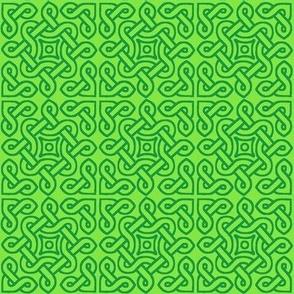 Celtic Knot Tile 1 greens
