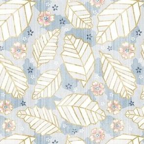 Geometric Origami Leaves Japandi Style / Small Scale