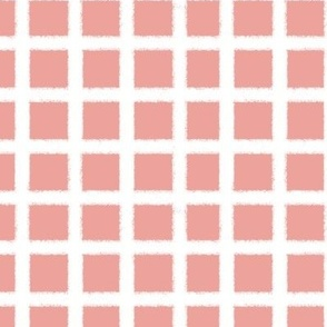 Fuzzy plaid-pink-small