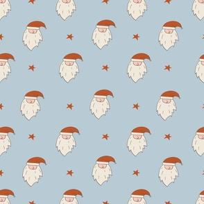 Christmas Retro Santa simple