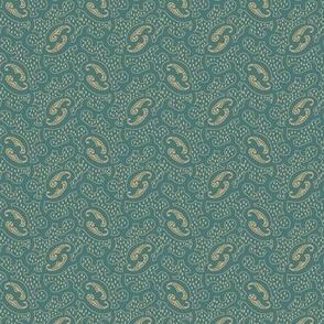 scroll teal 2065-60