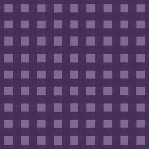 Purple Halloween plaid gingham