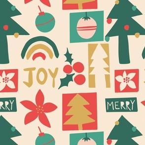 Christmas collage