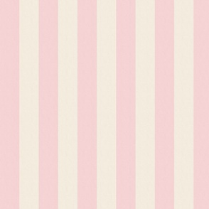 Pink and Cream Stripes (medium)