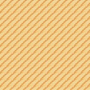 Beige Gold and Tangarine Diagonal Dot stripe