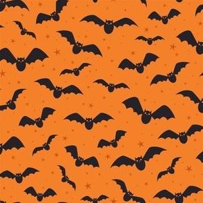 Happy Bats (Orange)