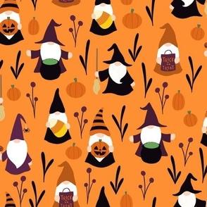 Halloween Gnomes (Orange)