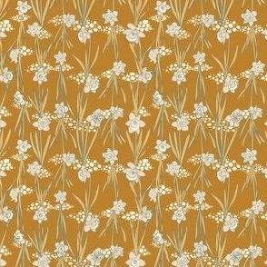 Honey and Vanilla Daffodils on Goldenrod