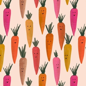 Cute Easter Carrots