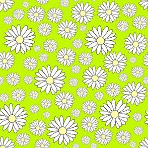Daisy Chain in Green Frog