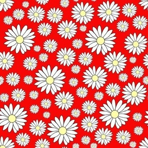 Daisy Chain in Rudy Red