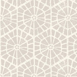 neutral geometric wallpaper block print warm gray1 large scale