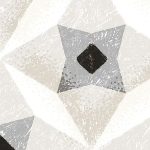 Geometric stars neutral large