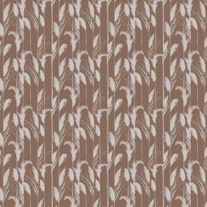 Brown and Tan Grass Stripe