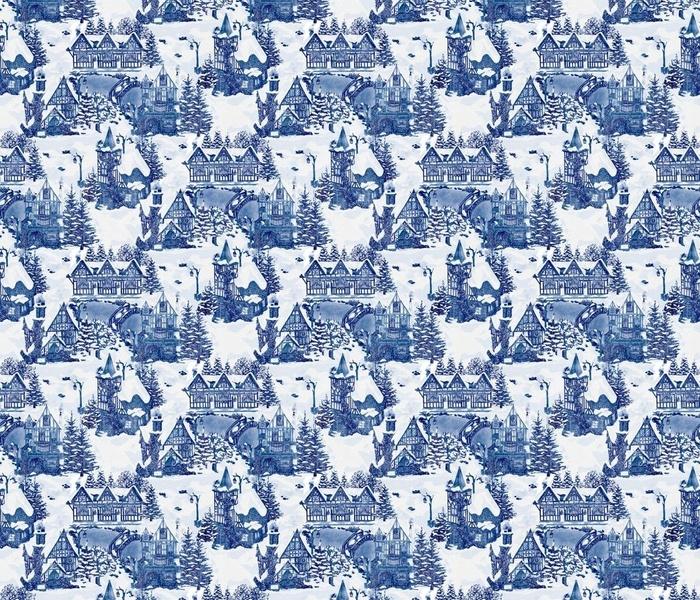 Snowy Christmas Village