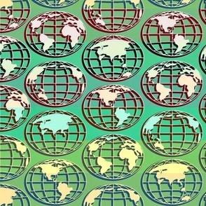 Globe - green stripe