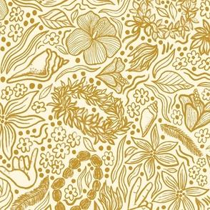 Aloha gold, large