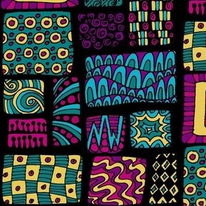 Zen-diggity patchwork - color