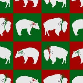 White Bear and Buffalo Squares