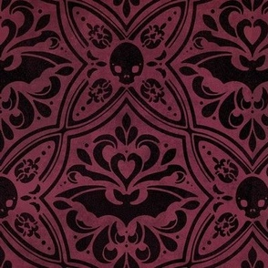Mephistophelean Damask – Small Scale