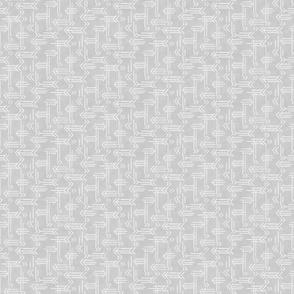 Gray Grey Geometric Arrows - Small Scale by Angel Gerardo
