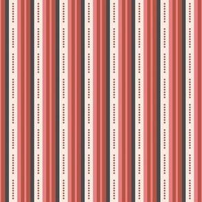 Pink and Brown stripes-nanditasingh