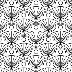 01201799 : jellyfish 1x X : outline