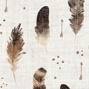 Larger Scale Feathers all around