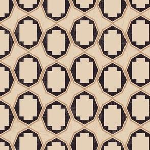 Brown and black geometrical-nanditasingh