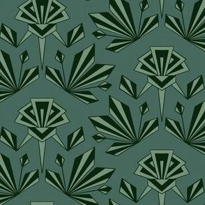 Art Deco Geometric - Large - Pine
