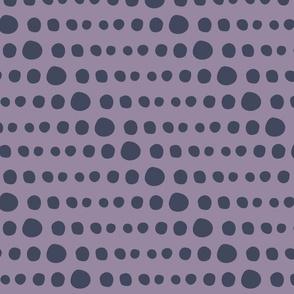 Dotty Stripe Purple