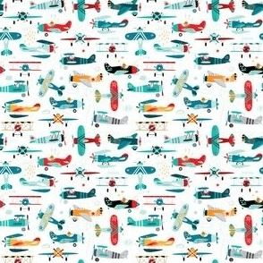 airplanes pattern- super small scale (3in)